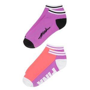 Victoria's Secret PINK Ultimate Low Show Socks NEW